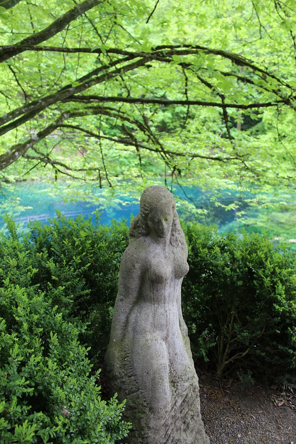 blue lady Wendy The Blue Waters of Blaubeuren June 16