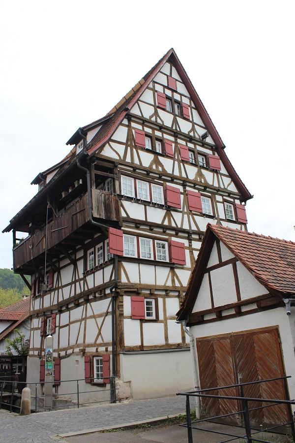 half timbered house Wendy The Blue Waters of Blaubeuren June 16