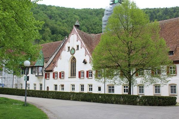 monastery 1 Wendy The Blue Waters of Blaubeuren June 16