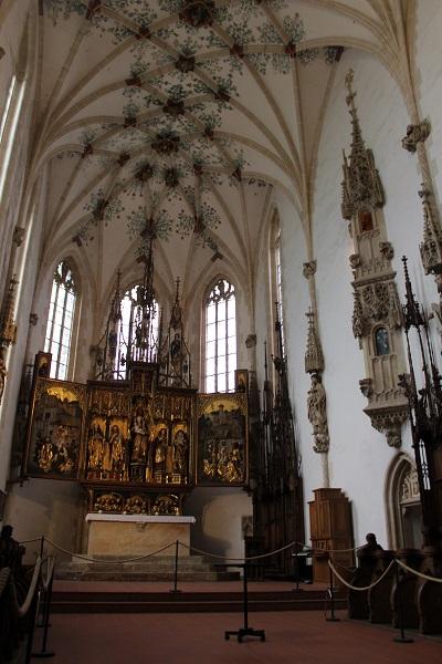 monastery church Wendy The Blue Waters of Blaubeuren June 16