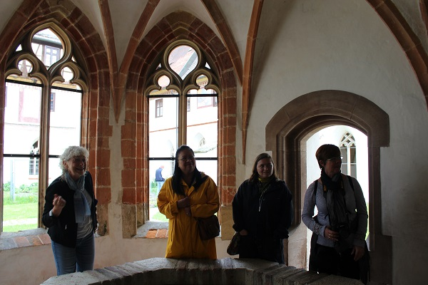 monastery tour Wendy Water Blaubeuren June 16