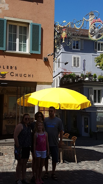 MIG - Zurich Cheese restaurant Wendy The ultimate day trip from Stuttgart July 16