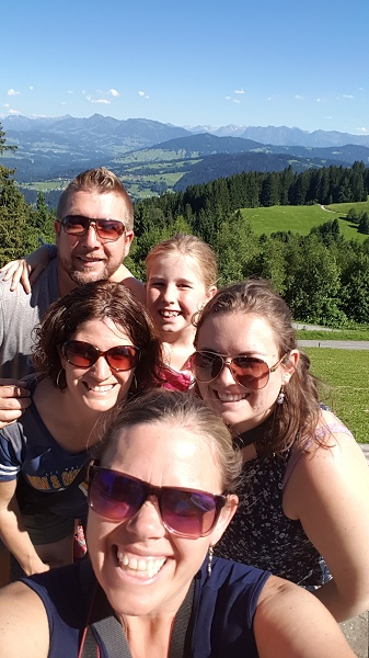 MIG - selfie in the mts Wendy The ultimate day trip from Stuttgart July 16