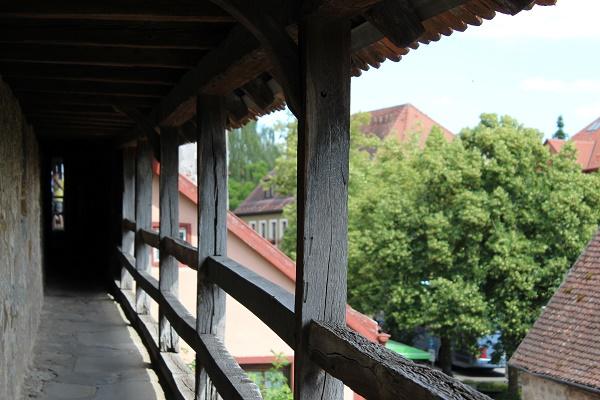 Walled city Wendy Rothenburg ab der Tauber July 16