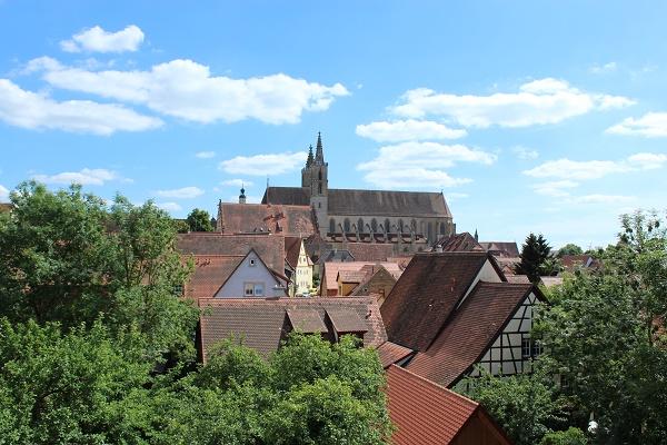 sky view Wendy Rothenburg ab der Tauber July 16