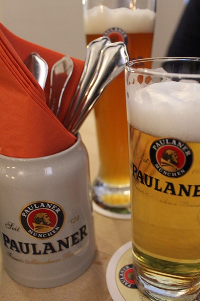 MIG - Paulaner Wendy The beer gardens (Biergarten) of Stuttgart August 16