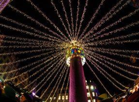 9 lights Gemma Under the lights of the Mainz Christmas Market